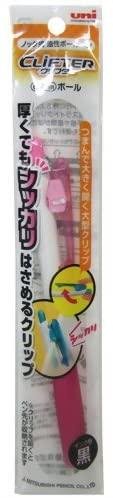 Uni ball pen Signo 0.7 mm White Pink PP bag (pack of 2)