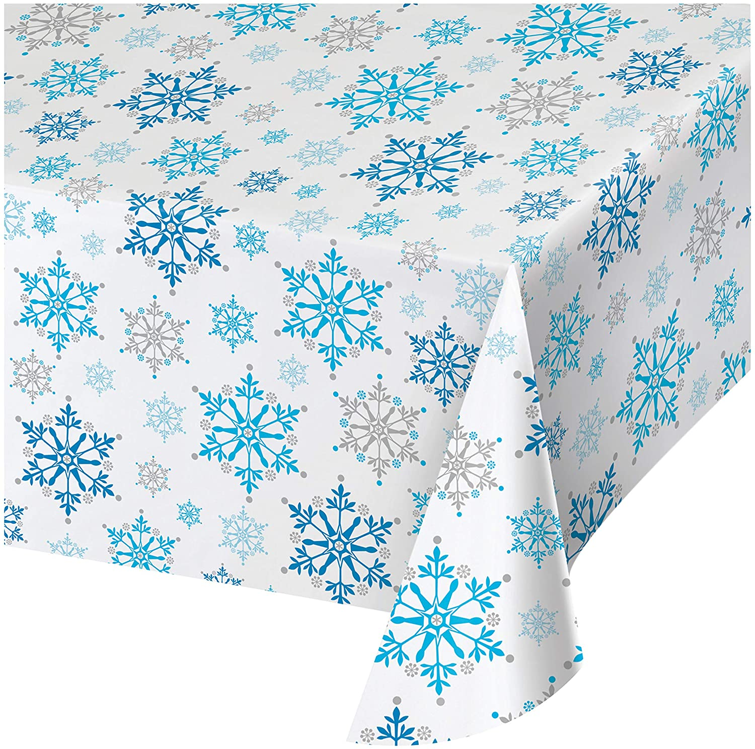 Creative Converting All Over Print Plastic Table cover, 54 x 102