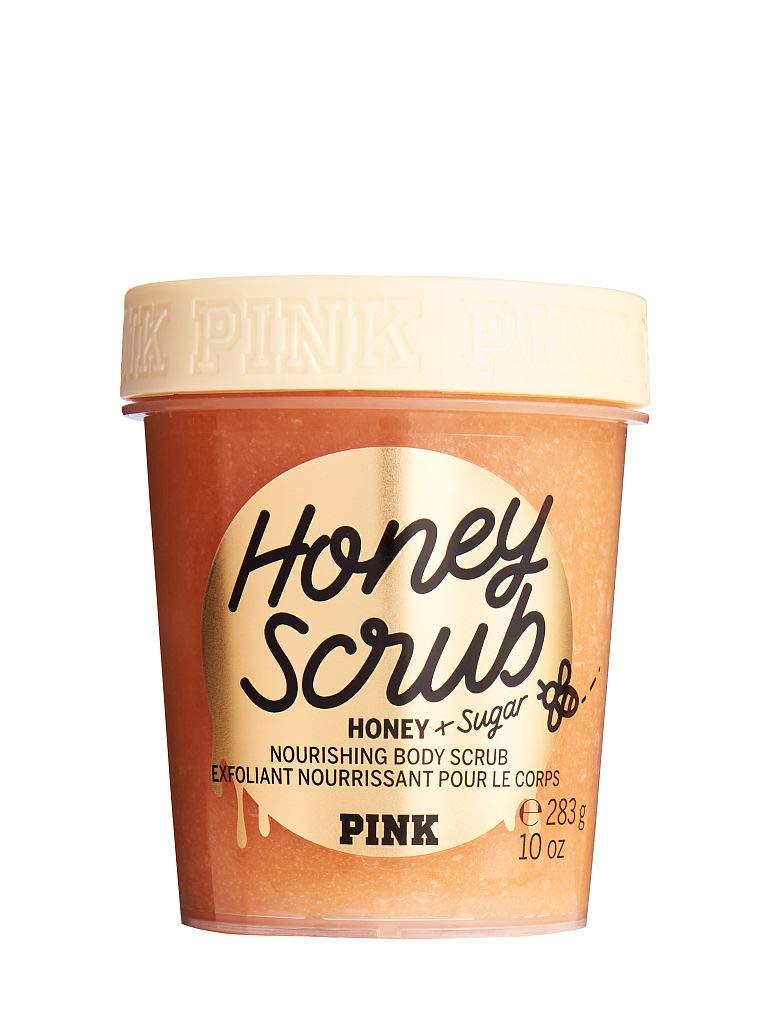 Pink Honey Scrub - Honey and Sugar Nourishing Body Scrub 10 oz.