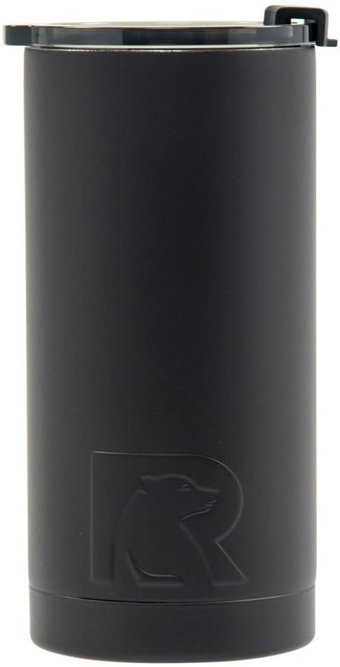 RTIC 505 Double Wall Vacuum Insulated Tallboy, 10 oz, Black