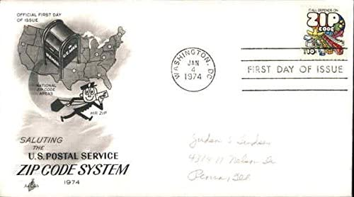 Saluting the US Postal Service Zip Code System Original First Day Cover 1974