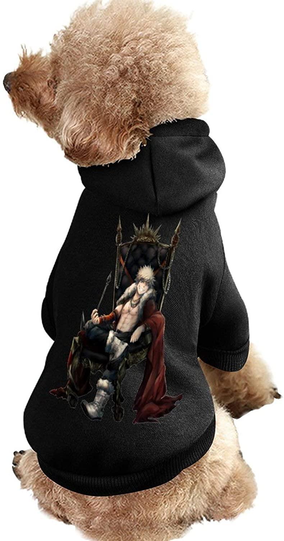 My Hero Academia-Katsuki Bakugo Dog Coat with Hat Funny Costume Winter Soft Dog Jumpsuit Pet Sweater Coat