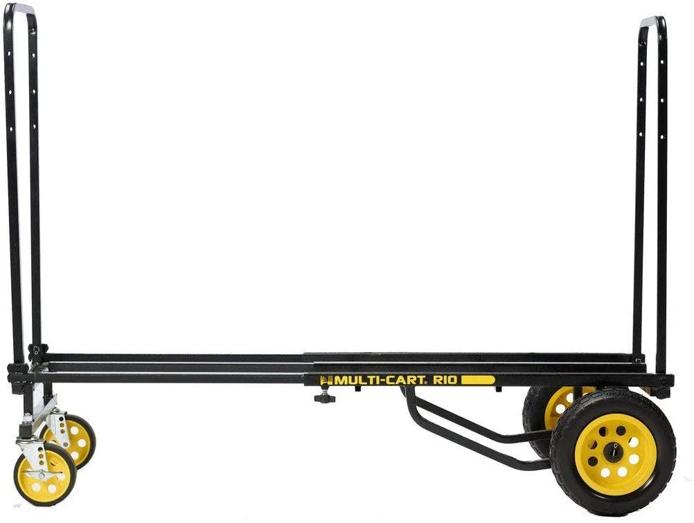 Rock-N-Roller R10RT (Max) 8-in-1 Folding Multi-Cart/Hand Truck/Dolly/Platform Cart/34