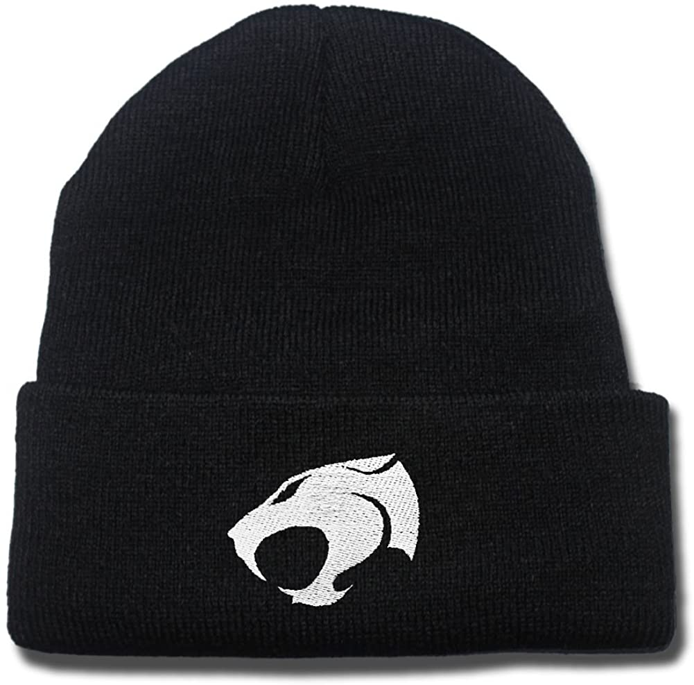 JRICK Thundercats Logo Beanie Fashion Unisex Embroidery Beanies Skullies Knitted Hats Skull Caps