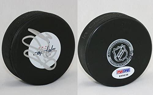 Bruce Boudreau SIGNED Washington Capitals Puck PSA/DNA AUTOGRAPHED - Autographed NHL Pucks
