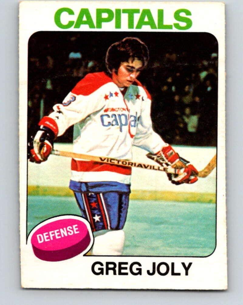 V5929-1975-76 O-Pee-Chee #170 Greg Joly Washington Capitals