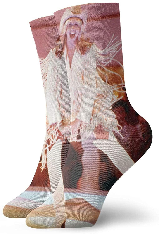 Olivia Newton John Xanadu Fashionable, Comfortable, Unisex Short Casual Socks, Suitable For All Seasons