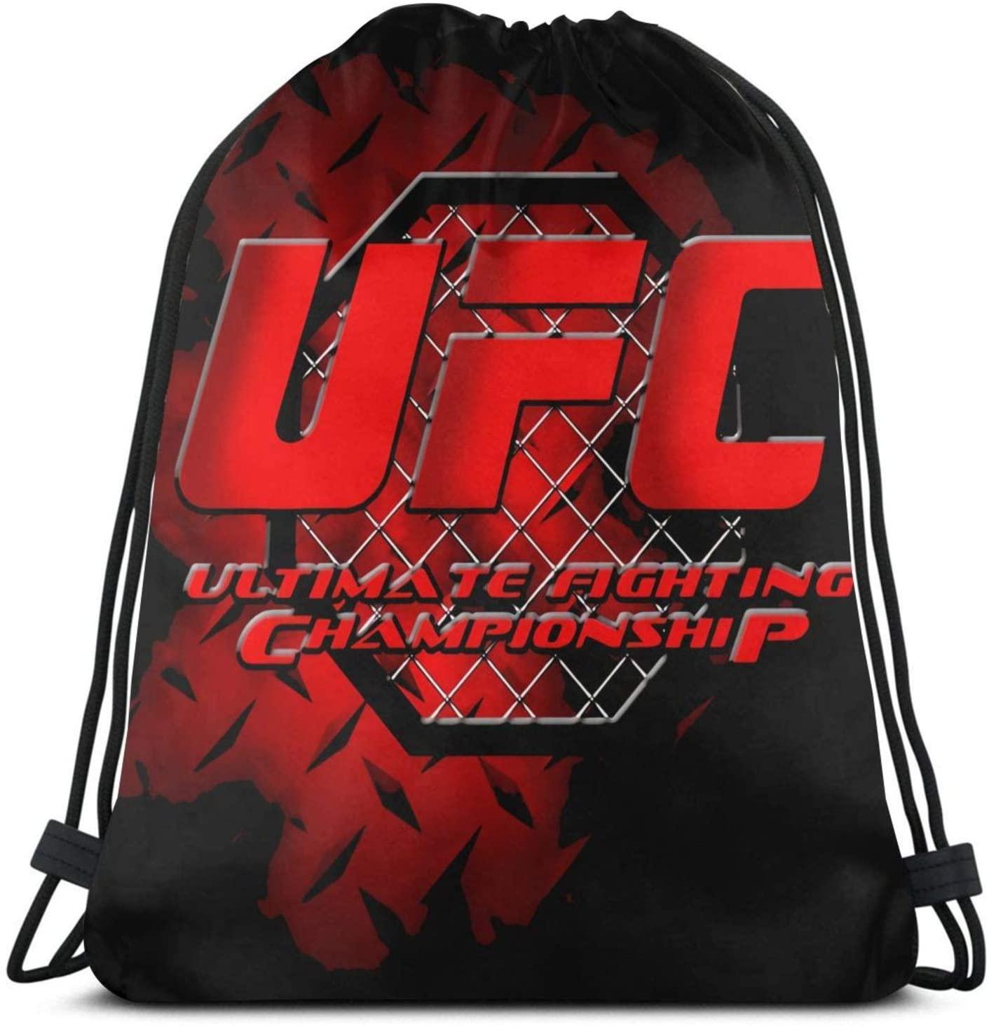 Sonickingmall Ultimate Fighting Championship Drawstring Bags Gym Bag