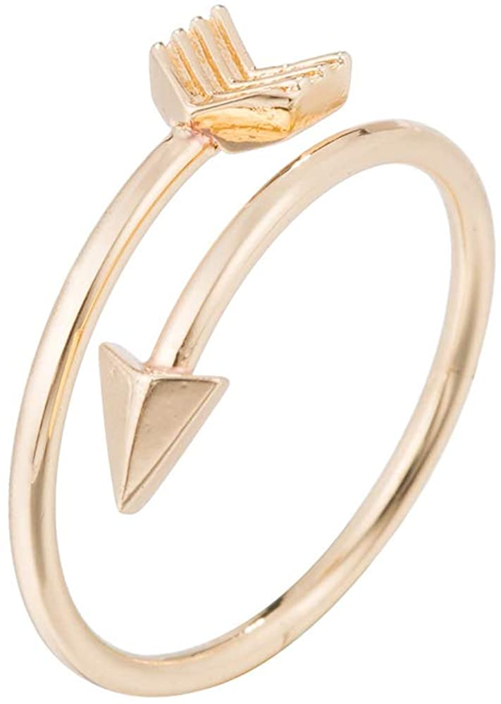 Ladies Ring Women's Arrow Expandable Open Rings Adjustable for Valentines Day Ladies Rings