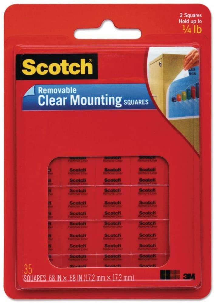MMM859 - Scotch Mounting Squares
