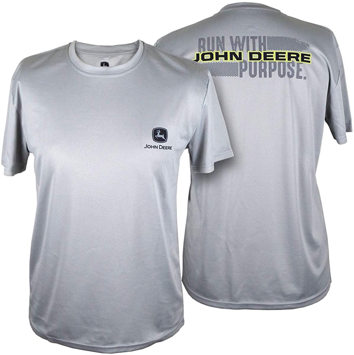 John Deere Nrlad- 2 Hit Ss Tee-Oxford-XL