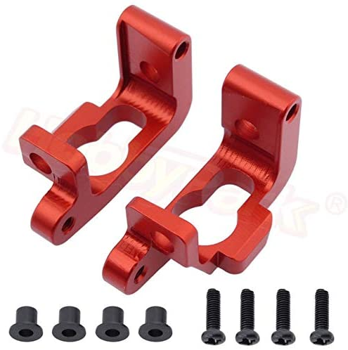 Parts & Accessories Aluminum Front Base C Hub Set (L/R) for RC HPI WR8 Flux Bullet ST MT 3.0 Ken Block 108077 - (Color: Red)