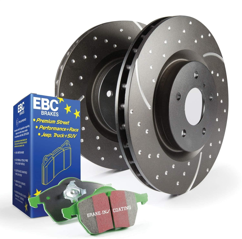 EBC S3KF1134 Stage-3 Truck and SUV Brake Kit