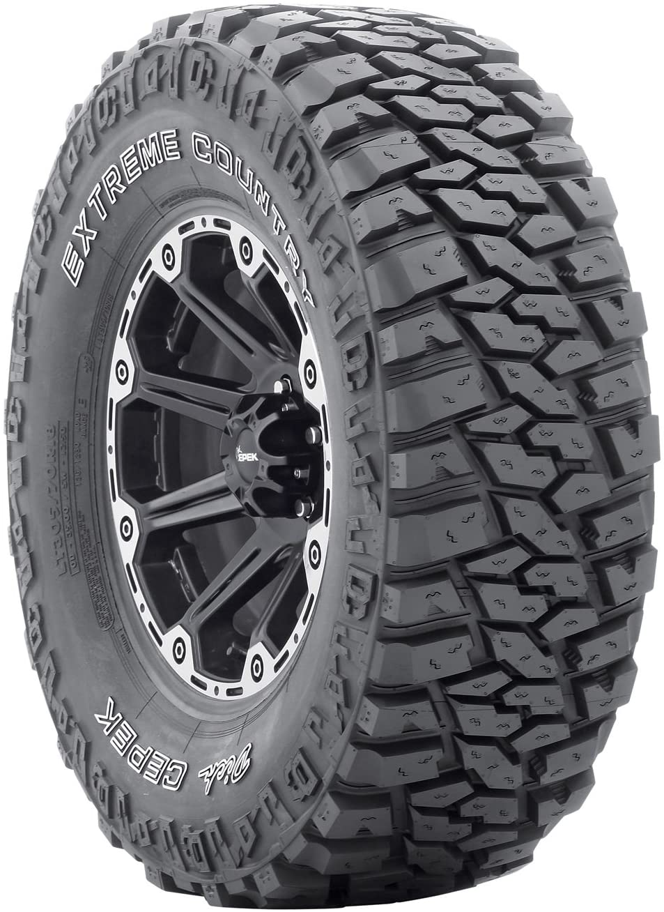 Dick Cepek Extreme Country All-Terrain Radial Tire - LT315/70R17 121Q