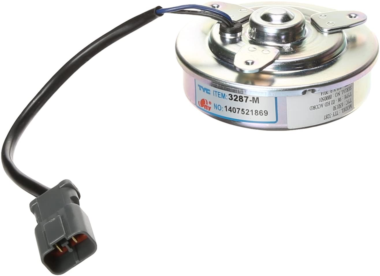 TYC 630130 Honda Accord Replacement Condenser Cooling Fan Motor