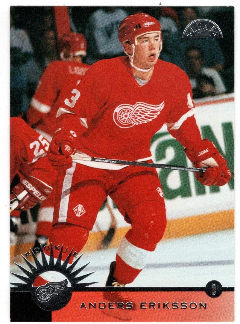 Anders Eriksson - Detroit Red Wings (Hockey Card) 1996-97 Leaf # 214 Mint