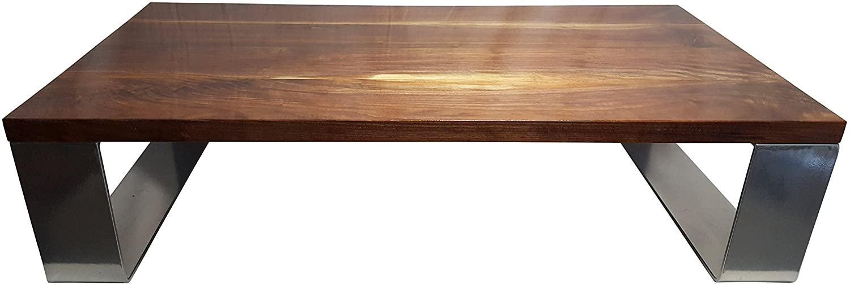Modern Black Walnut Coffee Table 48 x 24 x 12