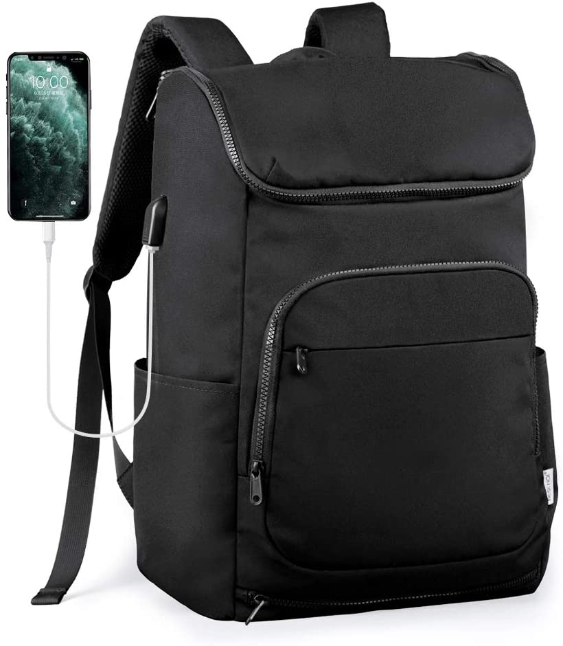 Beschoi Travel Backpack, Casual Daypack Hiking& Camping Rucksack Pack, Large College School Backpack, Shoulder Book Bags fits 15.6