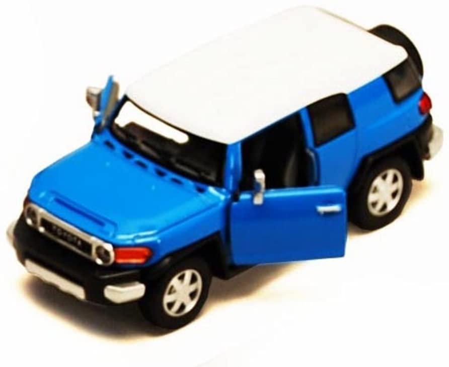 Toyota FJ Cruiser SUV, Blue - Kinsmart 5343D - 1/36 Scale Diecast Model Toy Car, but NO Box