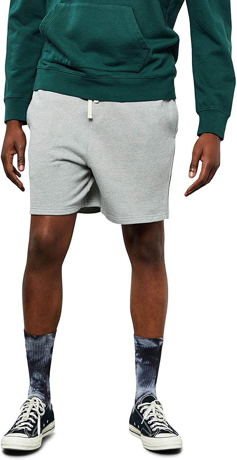PacSun Men's Grey French Terry Shorts