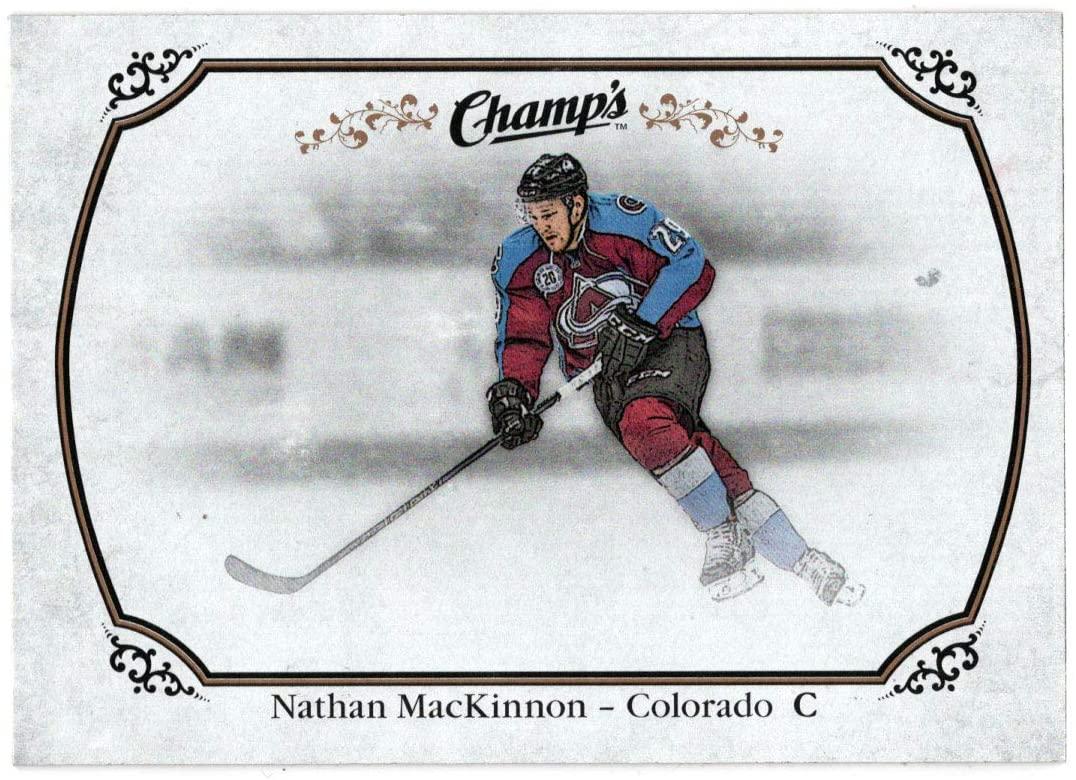 Nathan MacKinnon - Colorado Avalanche (Hockey Card) 2015-16 Upper Deck Champs # 76 Mint