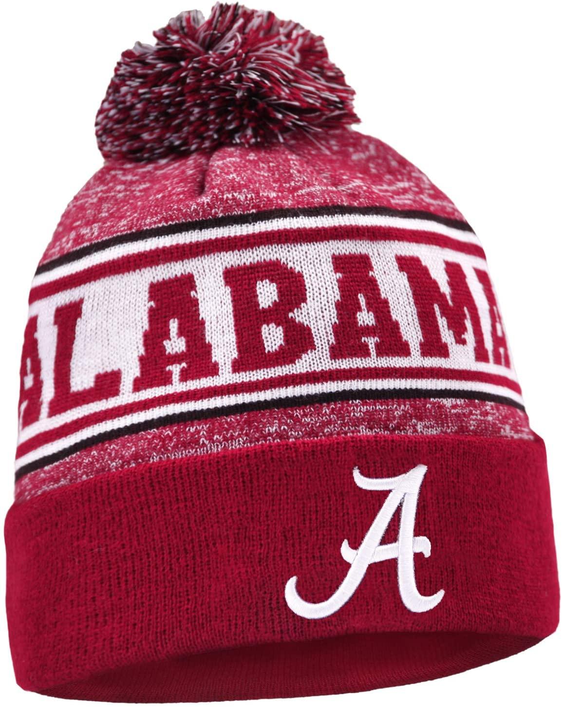 CANDICE NCAA Logo Hats Winter Knit Cuffed Stylish Beanie Knit Cap Sport Hats Fashion Toque Cap
