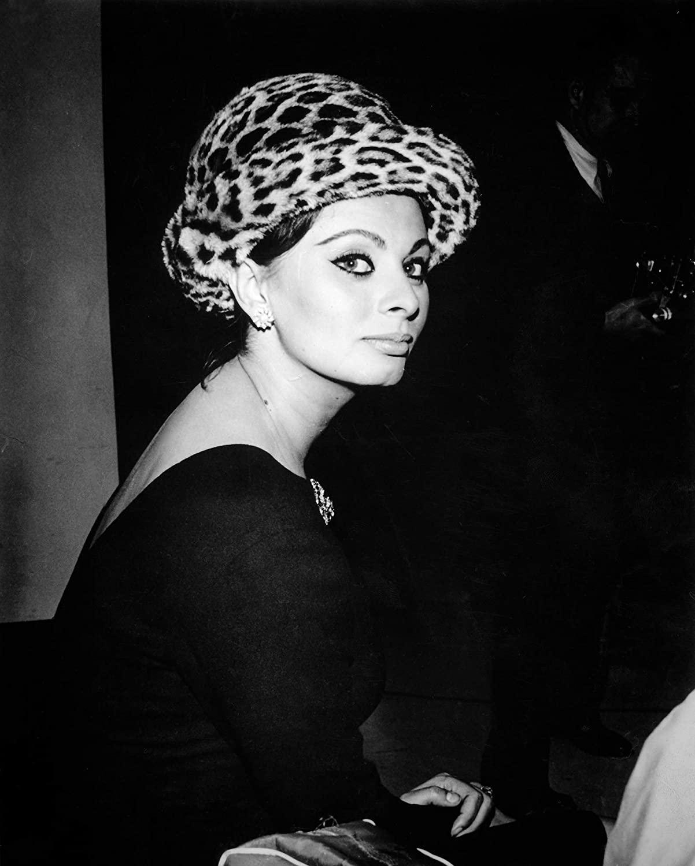 Celebrity Vault Candid Sophia Loren in Hat, an Archival Print - 20
