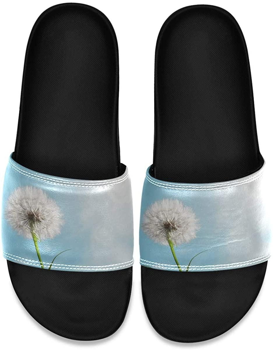 Fearless Tiger Closeup Mens Indoor Outdoor Bedroom Slippers Adjustable Sandals