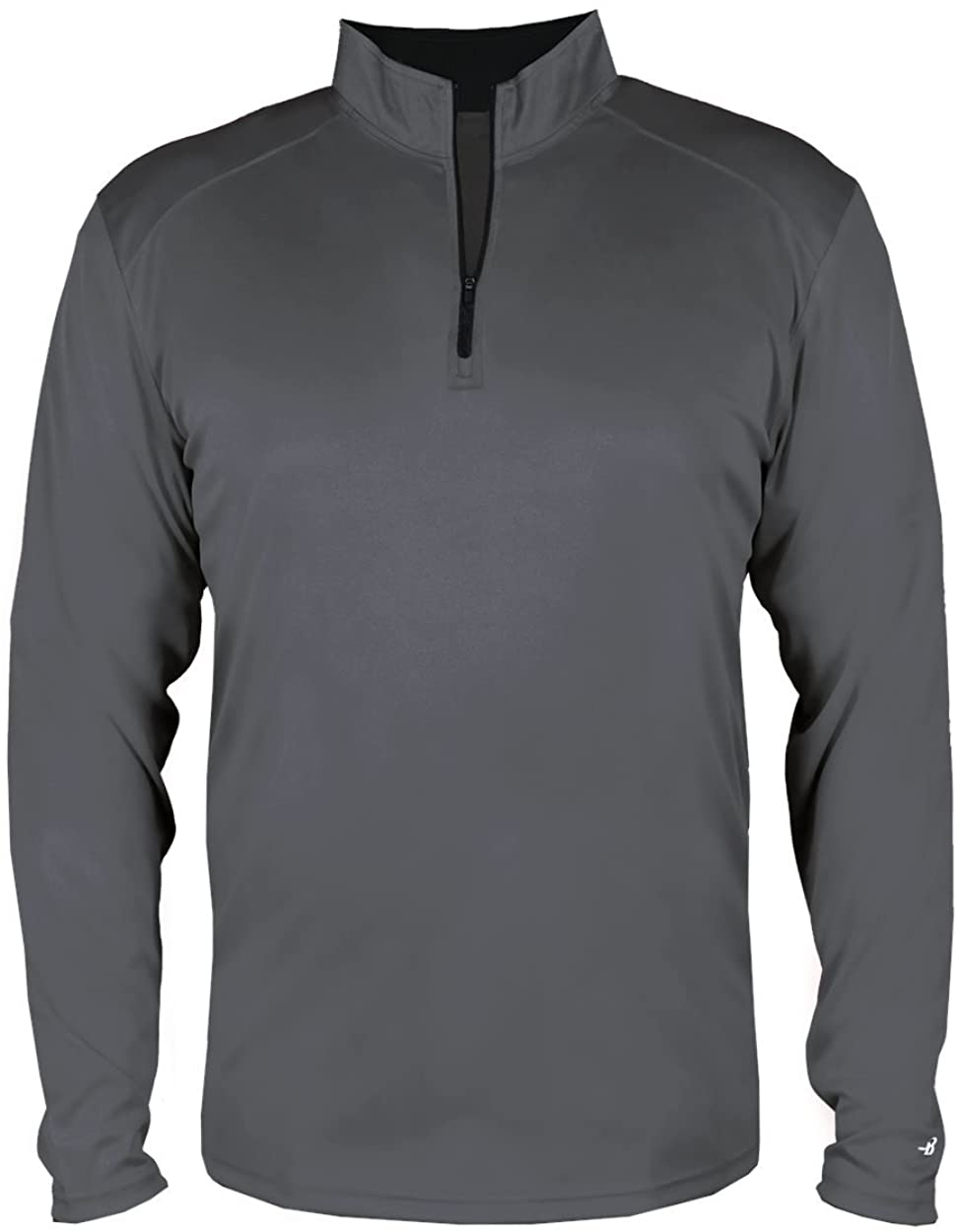 Graphite Adult XL Long Sleeve 1/4 Zip Pullover Wicking Sports Jacket