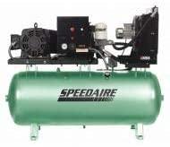 SPEEDAIRE 40HU61 Rotary Screw Air Compressor 15HP 80 gal.