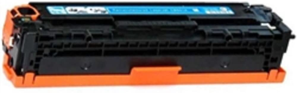 WORLDS OF CARTRIDGES Remanufactured Toner Cartridge Replacement for HP CE321A (128A) (Cyan) for Use in Color Laserjet CM1415 / CP1525