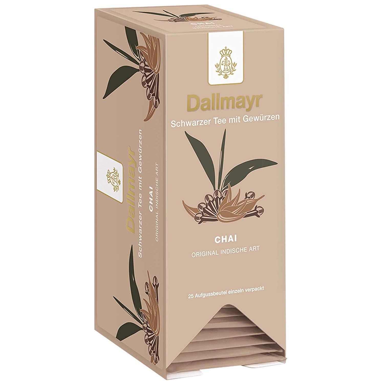 "Ayurvedic Black ""Chai"" Tea With Spices | 25 Tea Bags | Dallmayr | Germany"