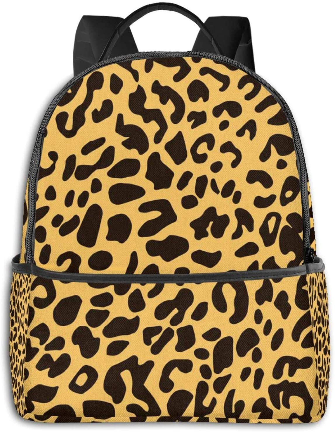 NiYoung Students Backpack Extra Large Book Bags Anti-Theft Rucksack for High School, College, Multipurpose Colorful Leopard Print Laptop Backpack