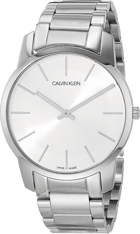 Calvin Klein City Men's Analogue Stainless Steel Bracelet Watch
