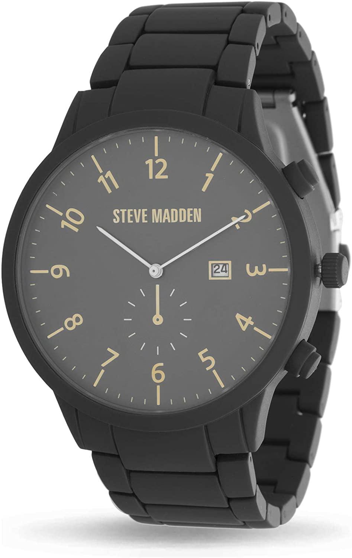 Steve Madden Round Dial Link Men's Watch (SMW244)