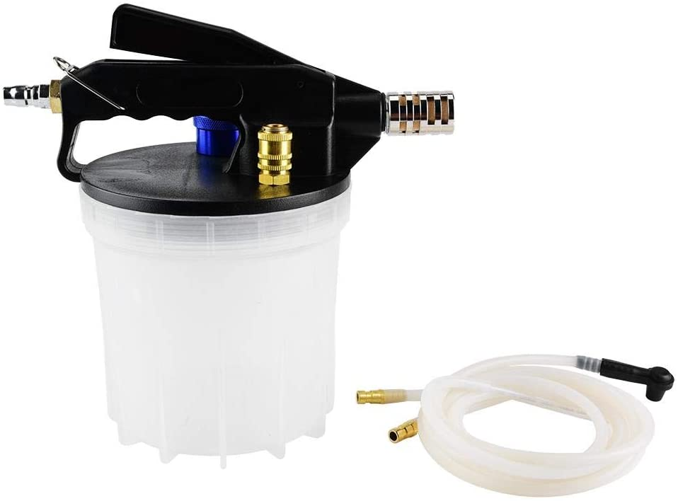 Vacuum Brake Bleeder, 2L Vacuum Brake Bleeder Oil Fluid Extractor Pump Fluid Bleedering Tool