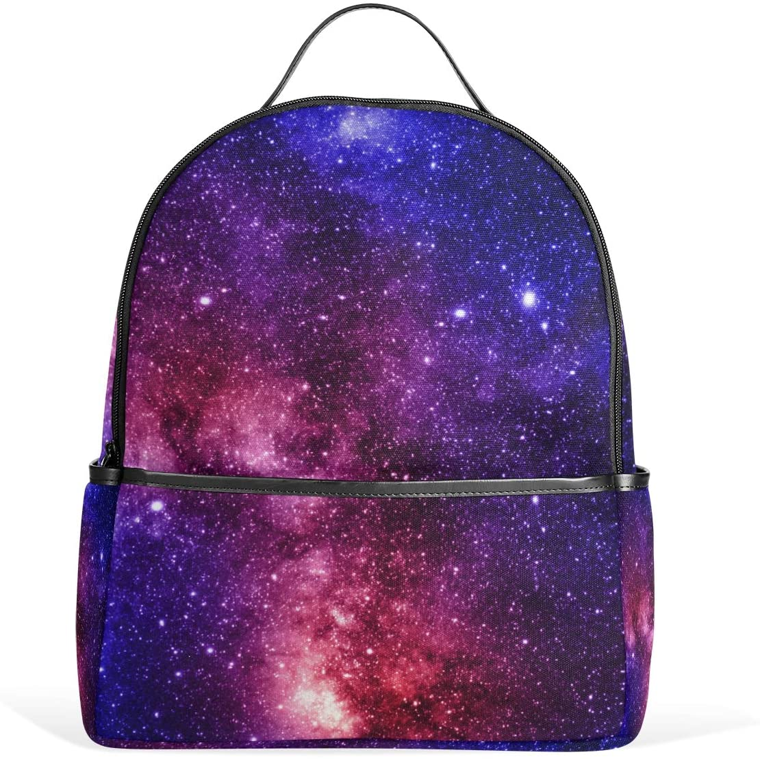 Kids' School Backpack Deep Outer Space Bookbag for Boys Girls Lightweight Casual Travel Bag Large Capacity Daypack