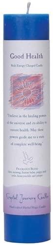 Crystal Journey, Candle Pillar Good Health