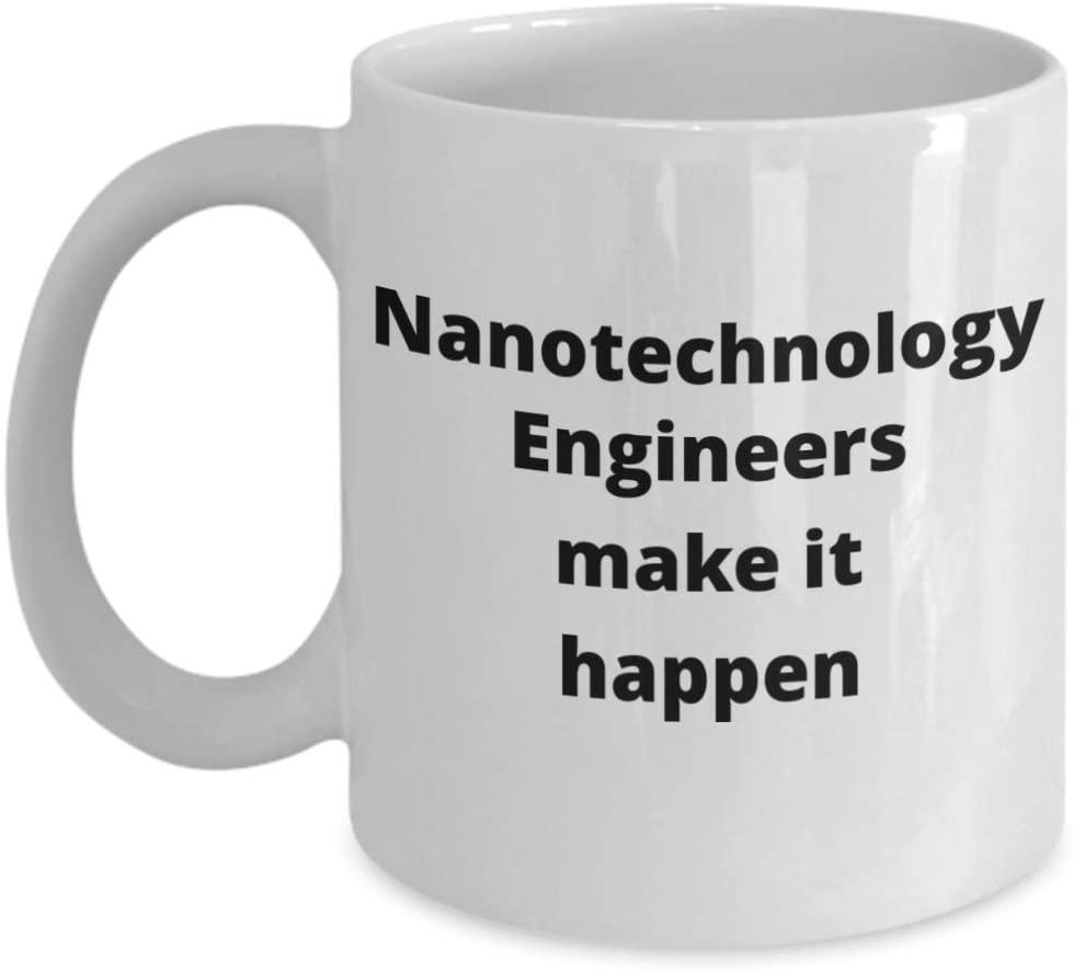 Nanotechnology Engineer Coffee Mug Funny Gift Idea for Engineering Teacher Graduate Student Coworker Boss Dad Grandpa Son Daughter