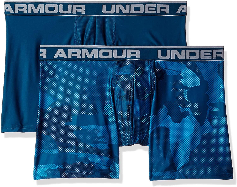 Under Armour Men's O-Series 6in Boxerjock 2pk Novelty