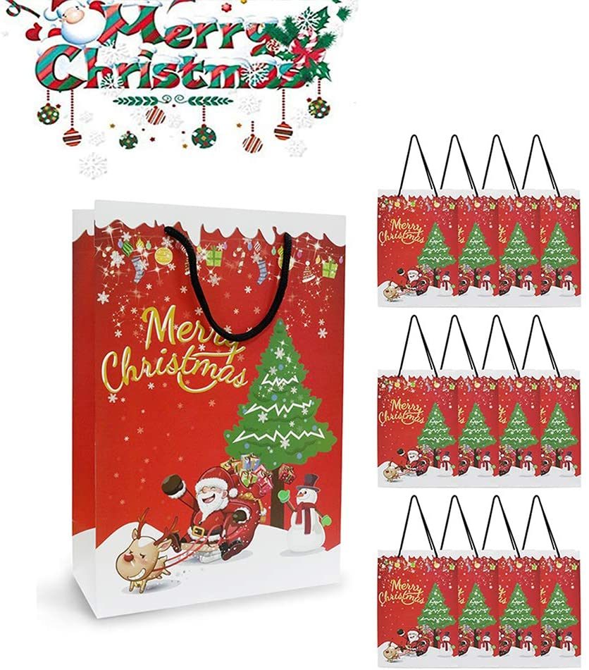 Christmas Bags for Gift, Waterproof Large Bags Santa Clause Gift Bags