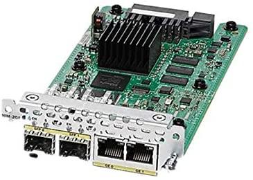 Cisco NIM-2GE-CU-SFP 2PT GE WAN NIM DUAL-MODE RJ45 & SFP