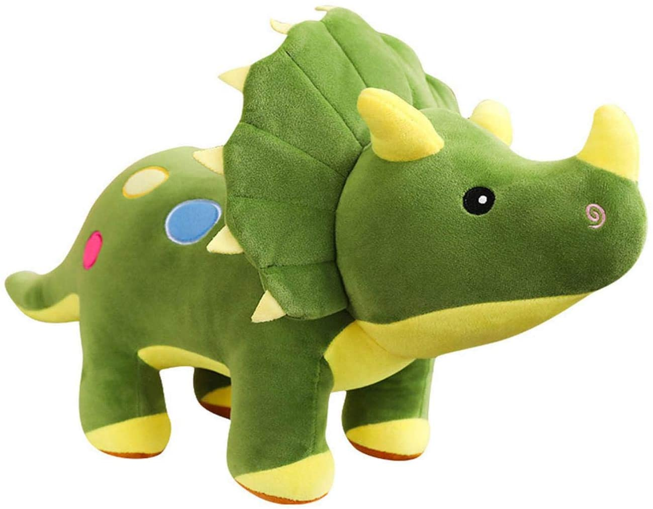 Cute Dinosaur Dolls Plush Toys Soft Stuffed Animal Adorable T-Rex Dolls Baby Accompany Toy Sleeping Doll for Home Pillow Decor