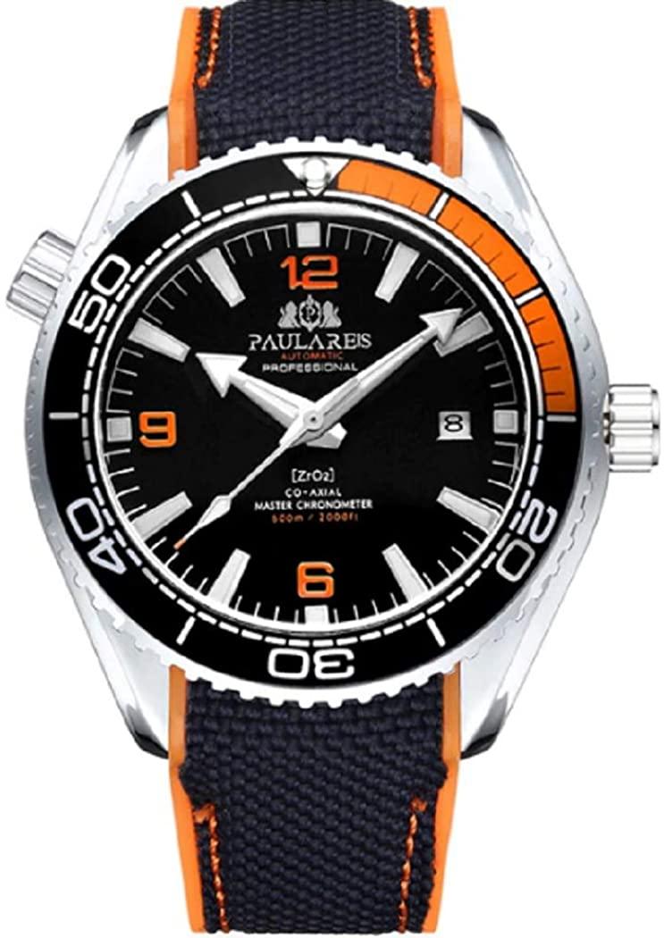 PAULAREIS Brand Luxury Automatic Movement Fashion Casual Watch for Men Waterproof Role AAA Men's Wrist Watch wristwatches
