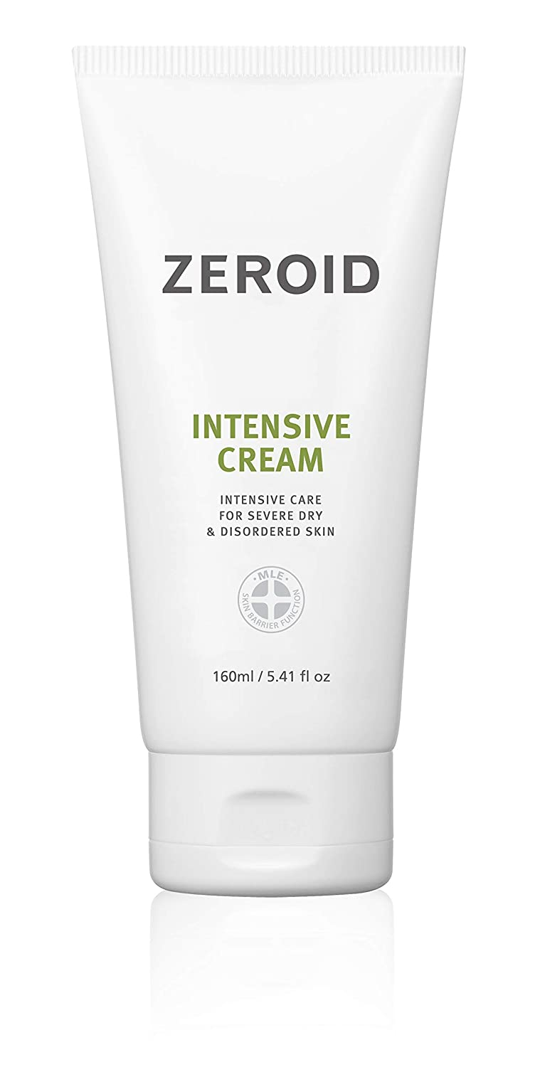 ZEROID Intensive Cream Intensive Care for Severe Dry & Disordered Skin (160 mL)