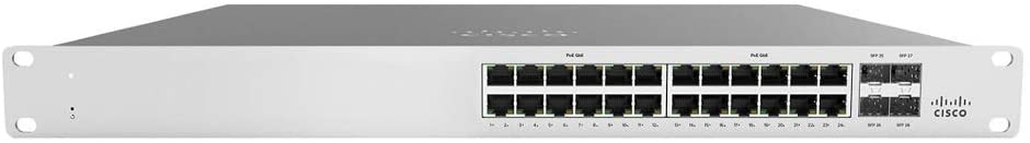 MS120-24-HW Cisco Meraki Cloud Managed Network Switch 5 Year Enterprise License LIC-ENT-5YR