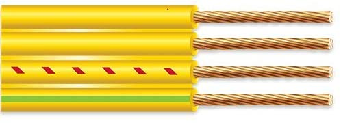 10/3 With Ground Flat Yellow Submersible Well Pump Cable 600V (400FT)