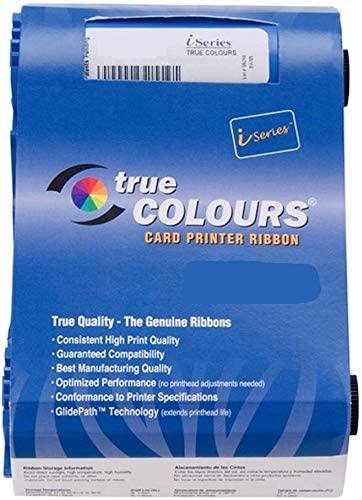 800017-240 Color Ribbon Tape for Zebra P100i P100M P110i P120i ID Card Printers 800017-240 YMCKO Ribbon 200 Images