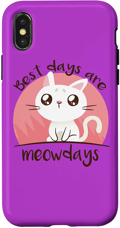iPhone X/XS Cute Cat Lover Gift Case