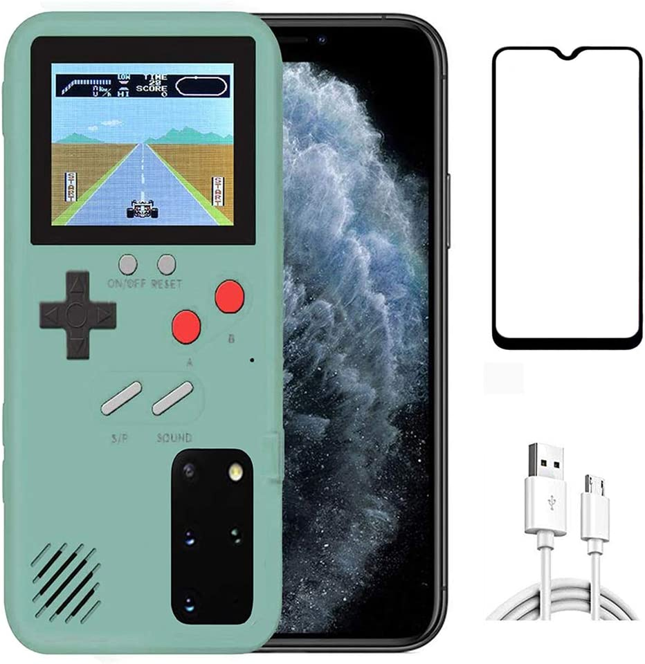 JTMall is Suitable for Huawei P40 Classic Handheld Game Console Mobile Phone case, Free Huawei P40screen Protector, 36 Mini Games to accompany You